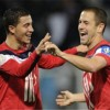 Joe Cole and Eden Hazard melt the icy Russians