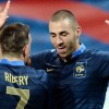 Ribery and Benzema in Four Star France Show