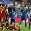 Pogba sees red as Spain go top of Group I