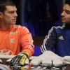 Olympique Lyonnais Stars Warm up for the World Cup with poker hands