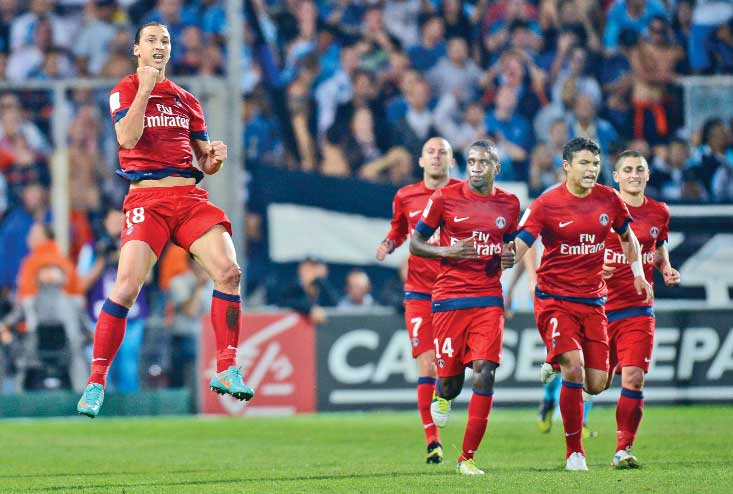 Gignac 2-2 Ibrahimovic as honours are shared in Le Classique