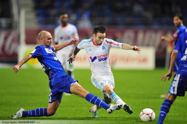 troyes break their duck as gignac breaks his toe. Black Bedroom Furniture Sets. Home Design Ideas