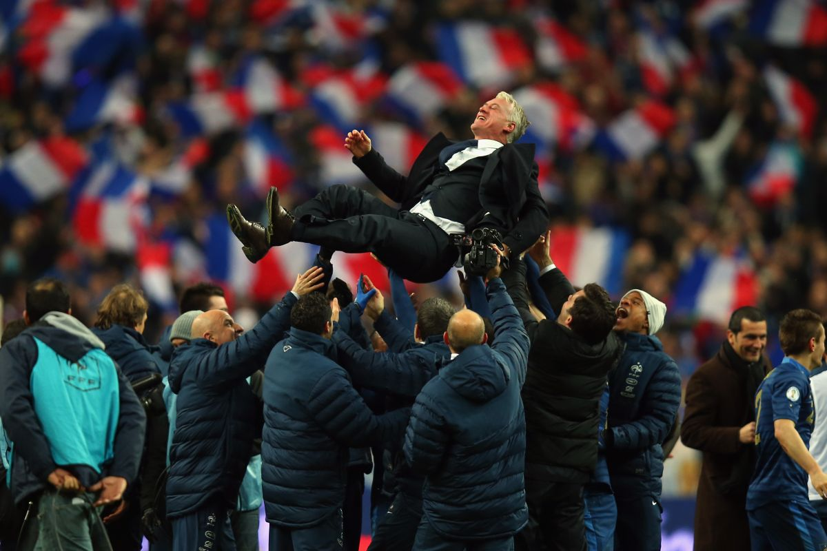 An Audience with… Didier Deschamps