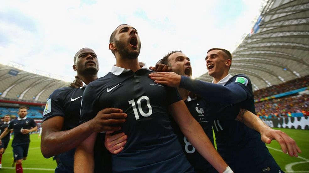 Yohan Cabaye the architect in France's 3-0 win over Honduras