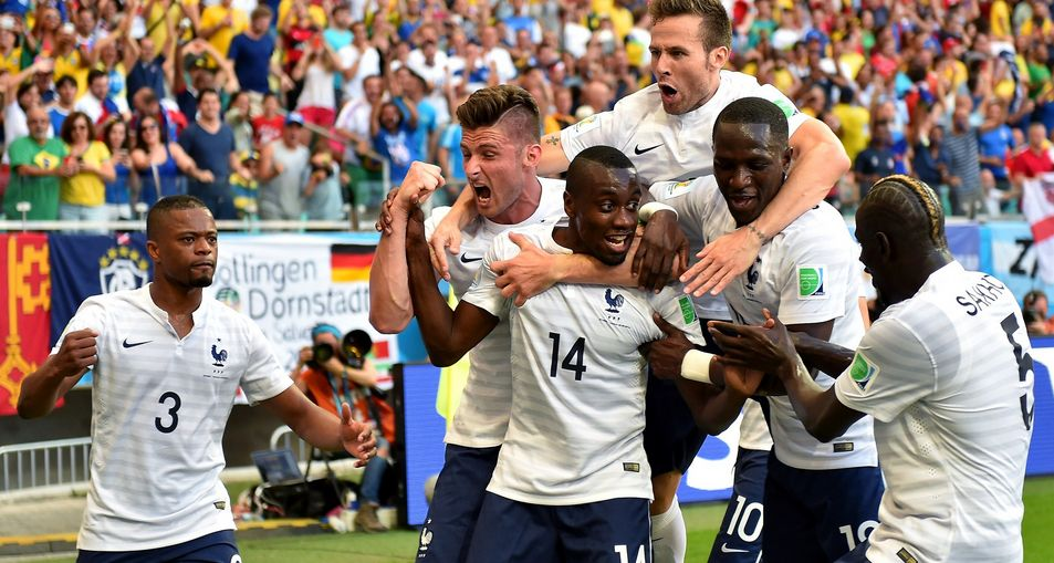 Les Bleus Nouveaux: France in 5-2 Destruction of Switzerland