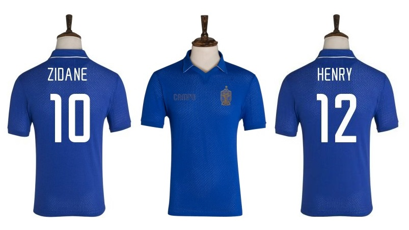 Relive the France glory days with Campo Retro