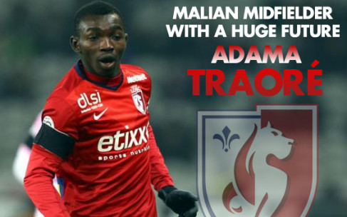 Adama Traore: Lille's Malian Midfielder with a Huge Future
