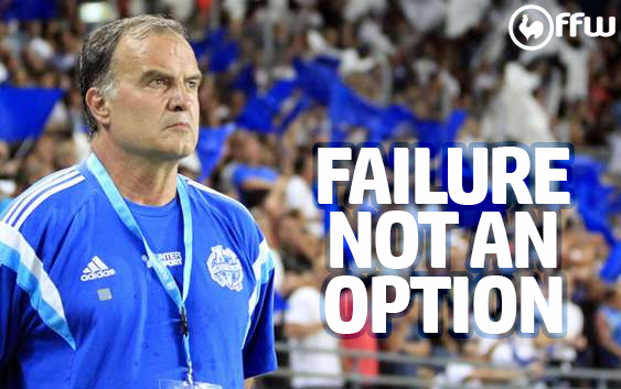 Failure is not an option for Marseille or Marcelo Bielsa