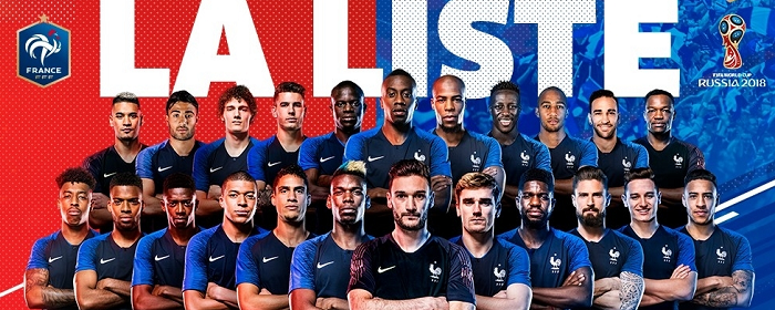 France – World Cup Squad
